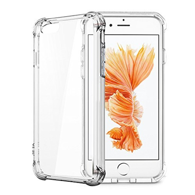 iPhone 7 Case, iPhone 8 Case, Matone Apple iPhone 7/8 Crystal Clear Shock Absorption Technology Bumper Soft TPU Cover Case for iPhone 7 (2016)/iPho...
