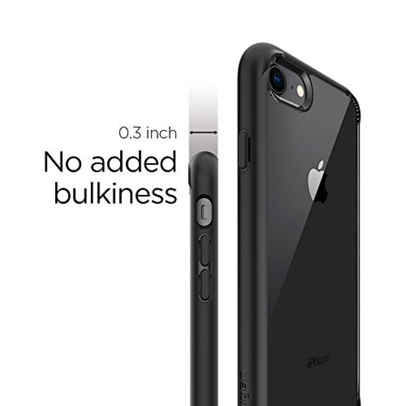 Spigen Ultra Hybrid [2nd Generation] iPhone 7 Case / iPhone 8 Case with Clear Air Cushion Technology for Apple iPhone 7 (2016) / iPhone 8 (2017) - ...